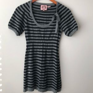 Juicy Couture Stripped Cotton & Cashmere Sweater